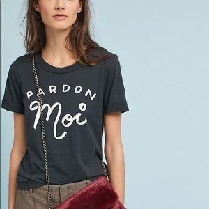 Anthropologie Graphic Tee